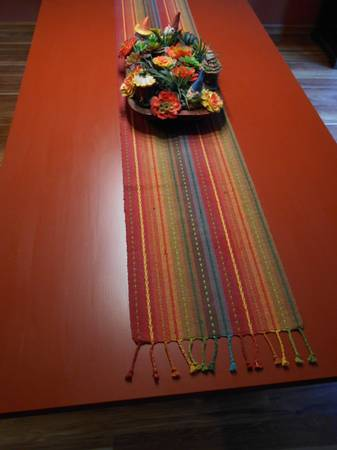Photo Large table real wood- furniture - $150 (spearfish)