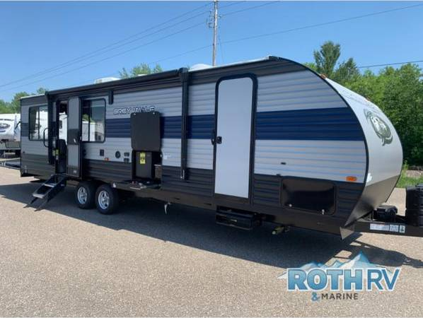 Photo NEW 2021 FOREST RIVER RV CHEROKEE GREY WOLF 26MBRR - $21,495 (Deerwood MN.)