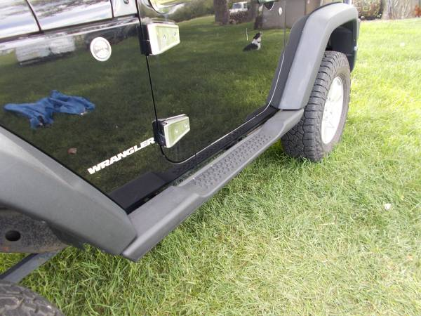 Photo New Jeep Wrangler Side Steps, Running Boards - $50 (Rapid City)