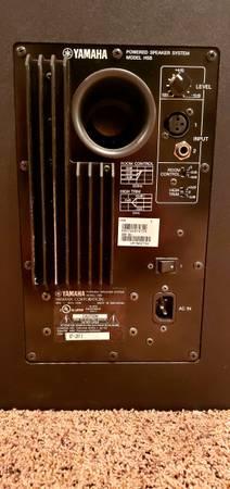 Photo Pair of Yamaha HS8 Powered Studio Monitors - $475 (Black Hawk)