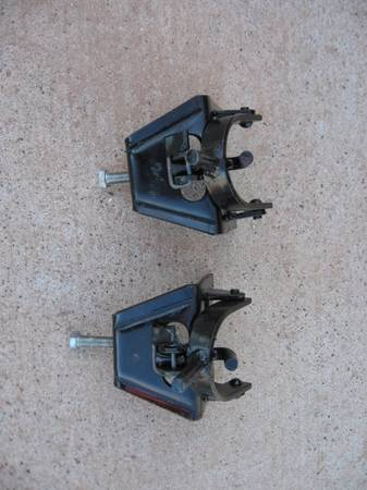 Photo RV or Trailer Tongue Brackets for Equalizer Hitch - $38 (Black Hawk)