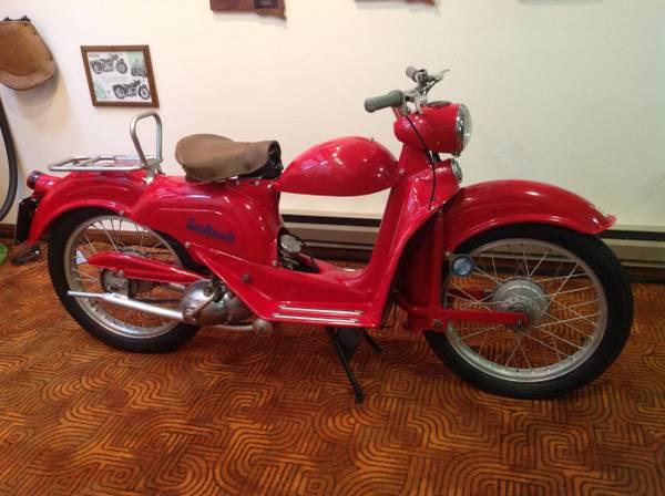 Photo Rare 1953 Aermacchi 125n - $4,000 (Rapid City Sd)