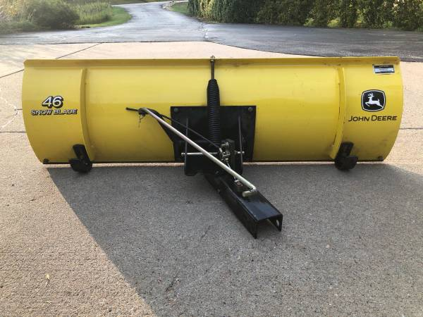 Photo Snow Plow for Mower - $195 (Rapid city)