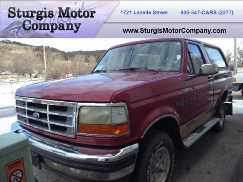 Photo Used 1994 Ford Bronco Eddie Bauer for sale