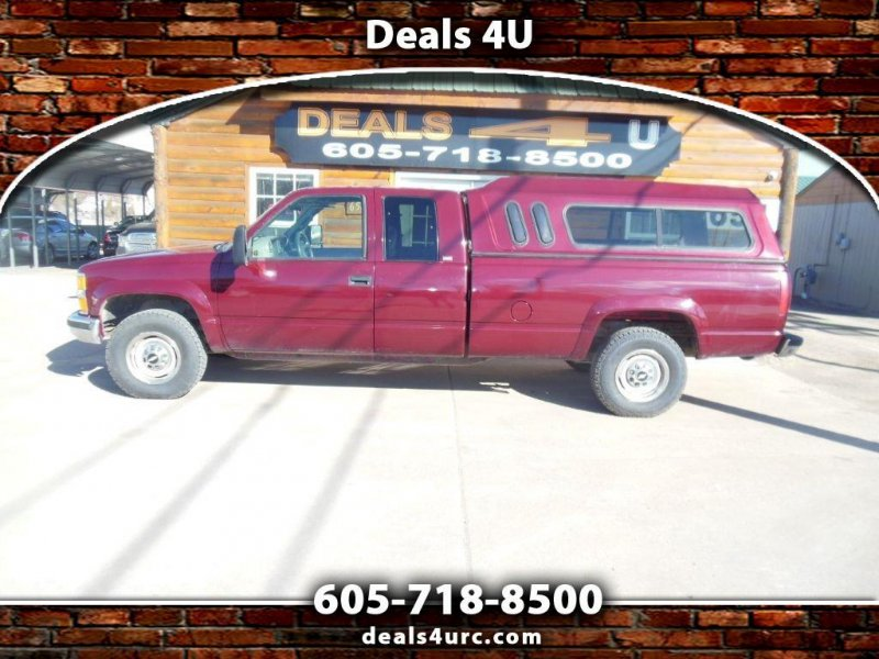Photo Used 1995 Chevrolet Silverado 2500 4x4 Extended Cab for sale