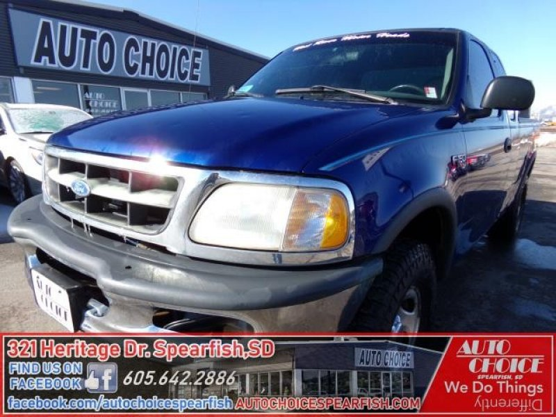 Photo Used 1997 Ford F150 4x4 SuperCab for sale