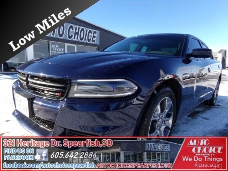Photo Used 2015 Dodge Charger SE AWD w Power Sunroof Group for sale