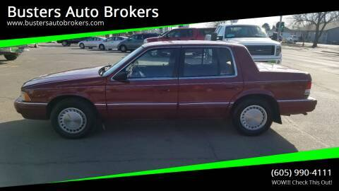 Photo WOW 1990 Plymouth Acclaim REDUCED - $1599 (Buster39s Auto Brokers, Mitchell)
