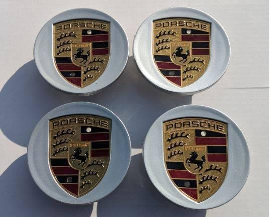 Photo Wheel Rim Caps 3 Inch Diameter Hub Center Cap Porsche - $50 (Huntington Beach)
