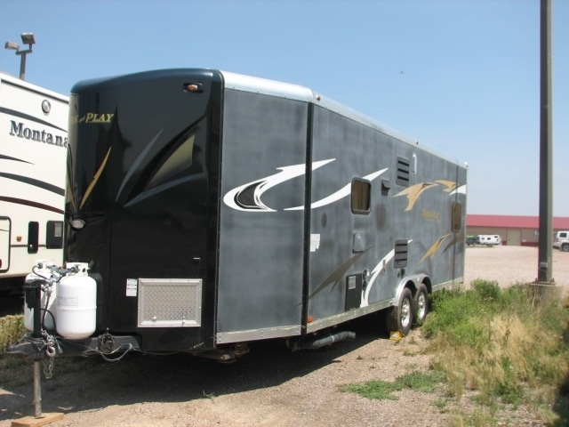 Photo Used 2014 Forest River Toy Hauler RV  $24995