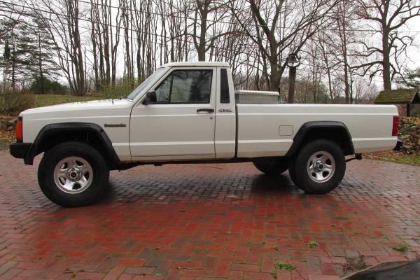Photo 1988 JEEP COMANCHE MJ 4X4 Pick up Truck - $8,500 (Pottstown)