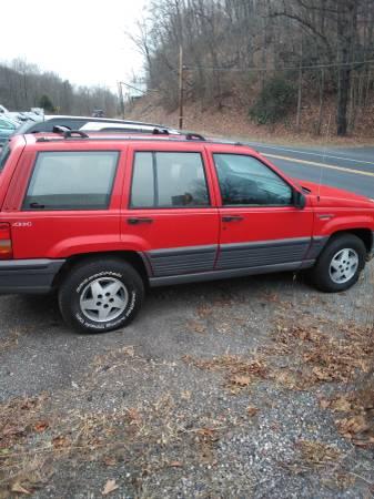 Photo 1994 Jeep Grand cherokee - $600 (Pottsville)