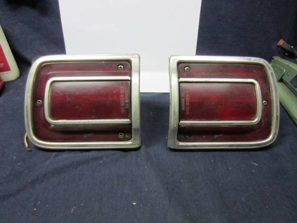 Photo 65 Chevelle Rear RL Tail-light Assy39s - $40 (Parkerford,Pa. 19457)