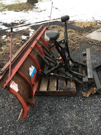 Photo 8 Western Quick Unimount Snow Plow - $950 (Hamburg)