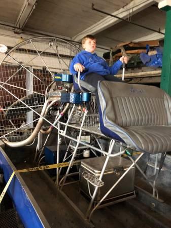 Photo Air Boat - $10,000 (Nephila)