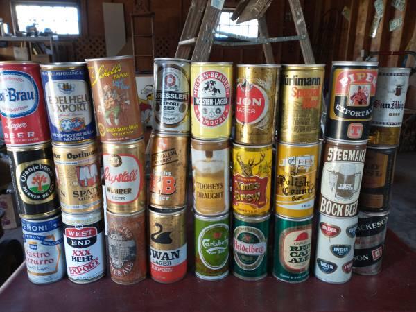 Photo Beer can garage sale (Westfield)
