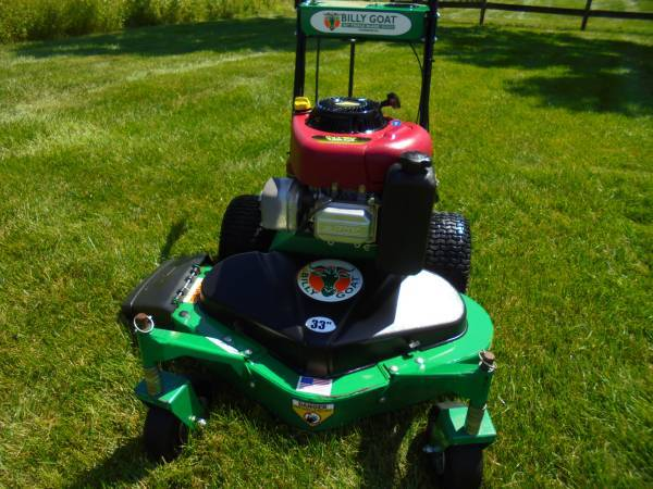 Photo Billy Goat Commercial Walk Behind Mower - $750