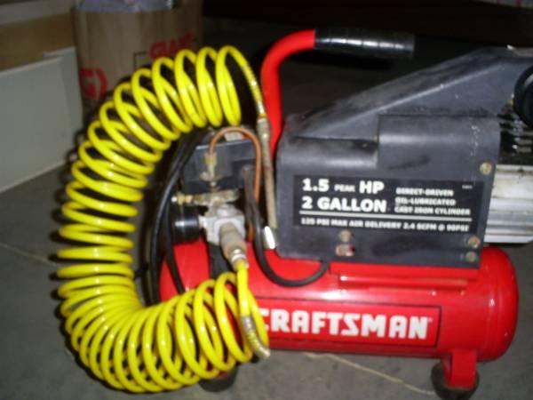 Photo Craftsman Air Compressor - $130 (Wernersville)