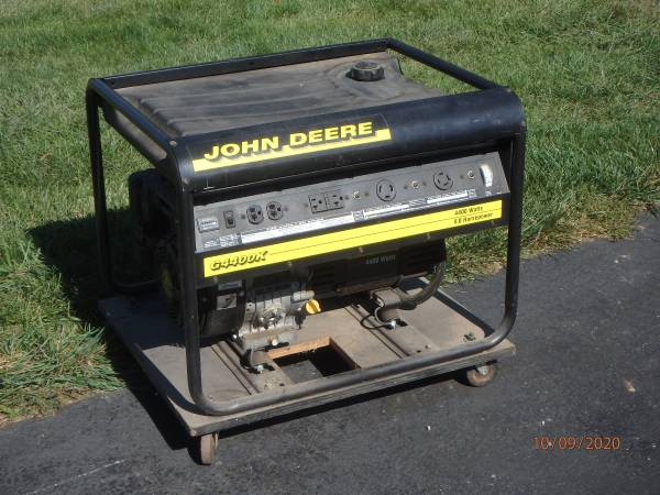 Photo GENERATOR, JOHN DEERE G4400K - $400 (BERNVILLE)