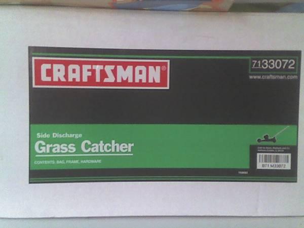 Photo Grass Catcher for Push Mower - $15 (Douglassville)