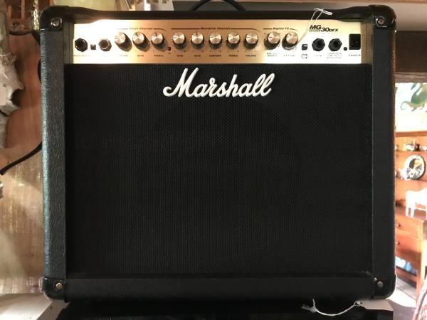 Photo Marshall Guitar Amp MG 30 DFX - NEVER USED, WMANUAL - $125 (Morgantown)