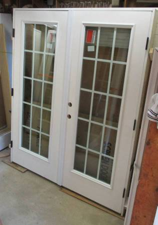 Photo New Out Swing French Double Exterior Double Door Unit 66 34quotby 81 18 - $825 (Pine Grove, Pa)