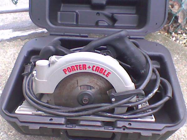 Porter Cable Left Handed Circular Saw Model 743 15a 175 Pottsville Tools For Sale Reading Pa Shoppok