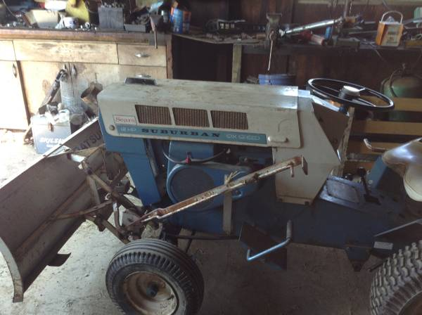Sears Suburban Lawn Tractor 300 Bethel Garden Items For Sale Reading Pa Shoppok