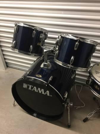 Photo Tama 6 pc Swingstar w hardware and cymbals...Ready to Go - $300 (POTTSTOWN)