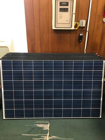 Photo Used 250 watt solar panels - $85 (Mahanoy City)