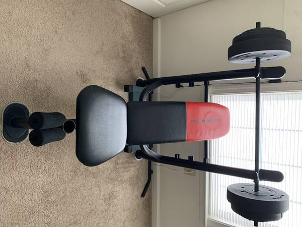Photo Weider Pro Standard,Bench,Bar and Weights - $50 (Sinking Spring)