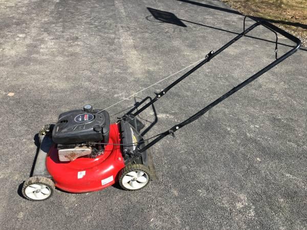 Photo Yard Machines 21 Mulcher Push Mower - $80 (Alburtis)