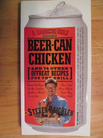 Photo cook books including Beer Can Chicken (Pricetown)