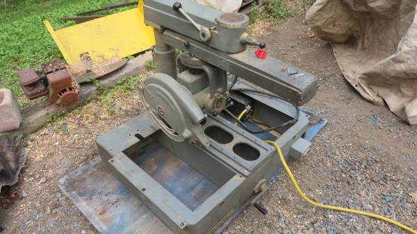 Photo delta rockwell 14quot radial arm saw 3hp 115230v single phase - $250 (pottstown, pa)