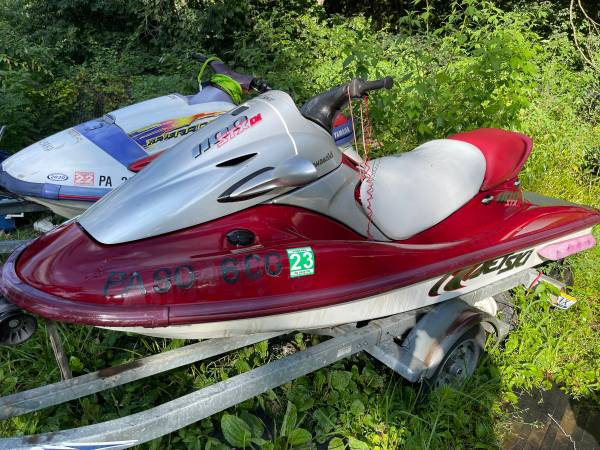 Photo seadoo jetski pwc double 2 place trailer boat speed package deal - $1,250 (reading)