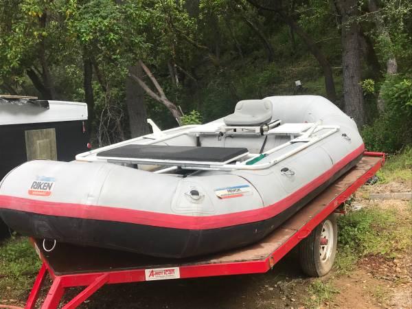Photo 14 whitewater raft - $1500 (Redding)