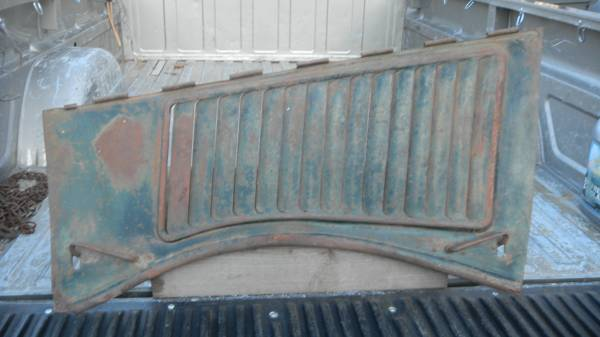 Photo 1936 Ford Pu Hood side - $30 (Redding, Ca)