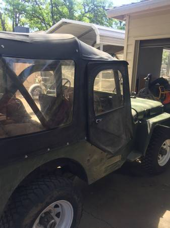 Photo 1952 Willys M38a1 - $6500 (Red Bluff)