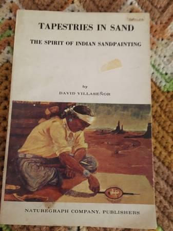 Photo 1966 Tapestries in Sand The Spirit of Indian Sandpainting by David Vi - $15 (ukiah)