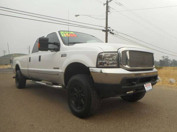 Photo 2000 FORD F350 SUPERDUTY CREWCAB LONGBED 4X4 7.3 POWERSTROKE 7.3 - $11,900 (JUNIORS WESTSIDE AUTO SALES 530-365-5353)