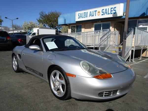 Photo 2002 PORSCHE BOXSTER CONVERTIBLE - LOW MILEAGE - NEW TIRES - BL AC BLOWS ICE - $8,988 (2002 Porsche BOXSTER CONVERTIBLE - LOW MILE)