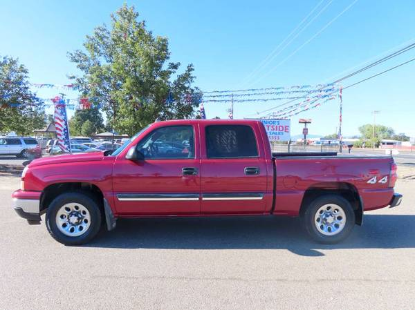 Photo 2006 CHEVY SILVERADO 1500 CREWCAB SHORTBED 4X4 5.3 VORTEC V8.......... - $12,906 (JUNIORS WESTSIDE AUTO SALES 530-365-5353)