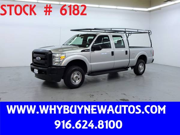 Photo 2011 Ford F250  4x4  Crew Cab  Only 38K Miles - $25980 (Rocklin)