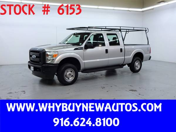 Photo 2011 Ford F250  4x4  Crew Cab  Only 63K Miles - $25980 (Rocklin)