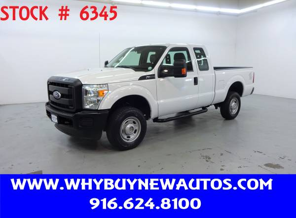 Photo 2011 Ford F350  4x4  Extended Cab  Only 71K Miles - $22980 (Rocklin)