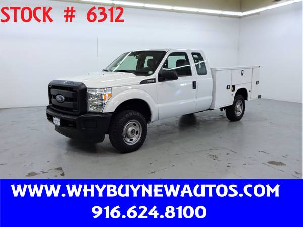 Photo 2015 Ford F250 Utility  4x4  Extended Cab  Only 73K Miles - $30980 (Rocklin)