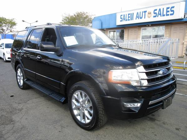 Photo 2016 FORD EXPEDITION LIMITED - REAR CAMERA - HEATED AND COOL BLUETOOTH - ROO - $25988 (2016 Ford Expedition LIMITED - REAR CAMERA)