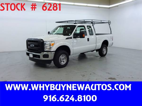 Photo 2016 Ford F250  4x4  Extended Cab  Only 71K Miles - $28980 (Rocklin)
