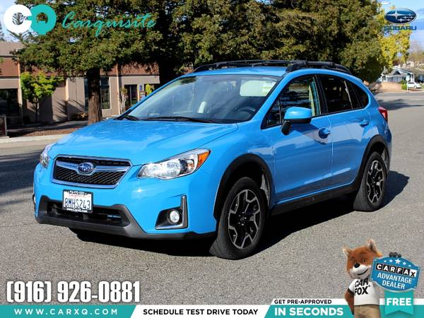 Photo 2016 Subaru Crosstrek Premium AWD 5 Speed Manual Hyper Blue - $17999 (Subaru Crosstrek 2016 Car SUV Truck CUDL)