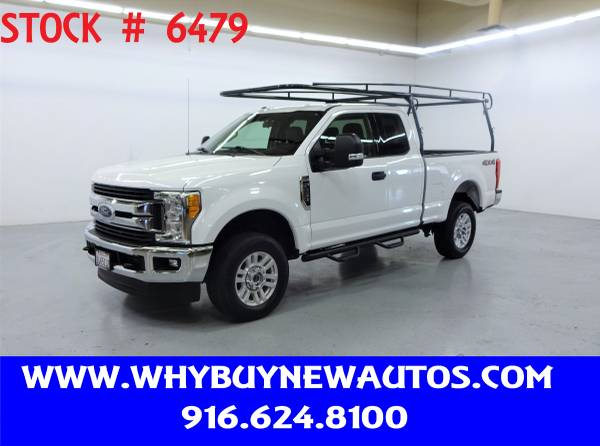 Photo 2017 Ford F250  4x4  XLT Extended Cab  Only 14K Miles - $34,980 (Rocklin)